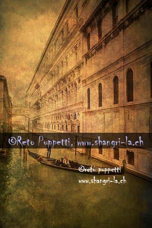 Venedig Gondola III
