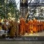 Meditation in thailändischem Kloster